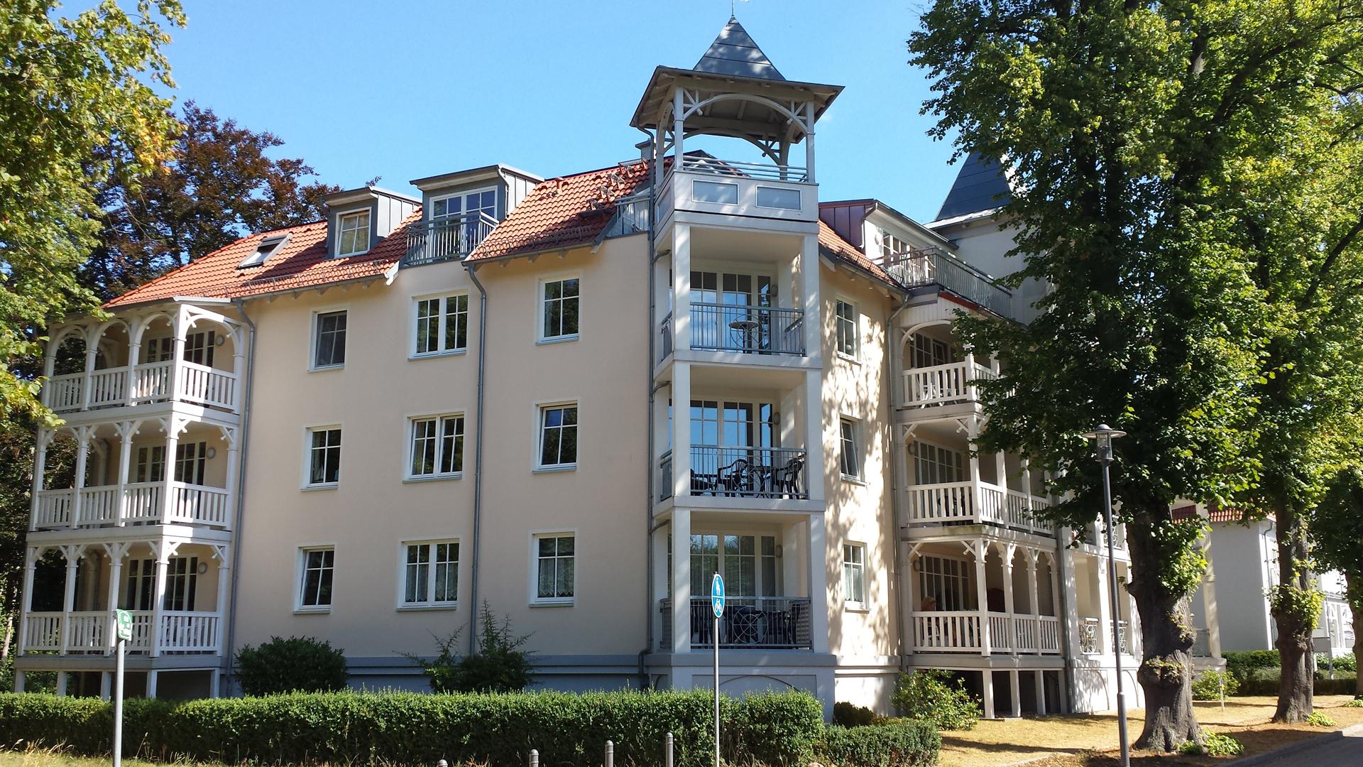 Kühlungsborn Ferienwohnung 2 Schlafzimmer | Villa Alexandra In Kuhlungsborn Objekt 13 Ostseebad Kuhlungsborn